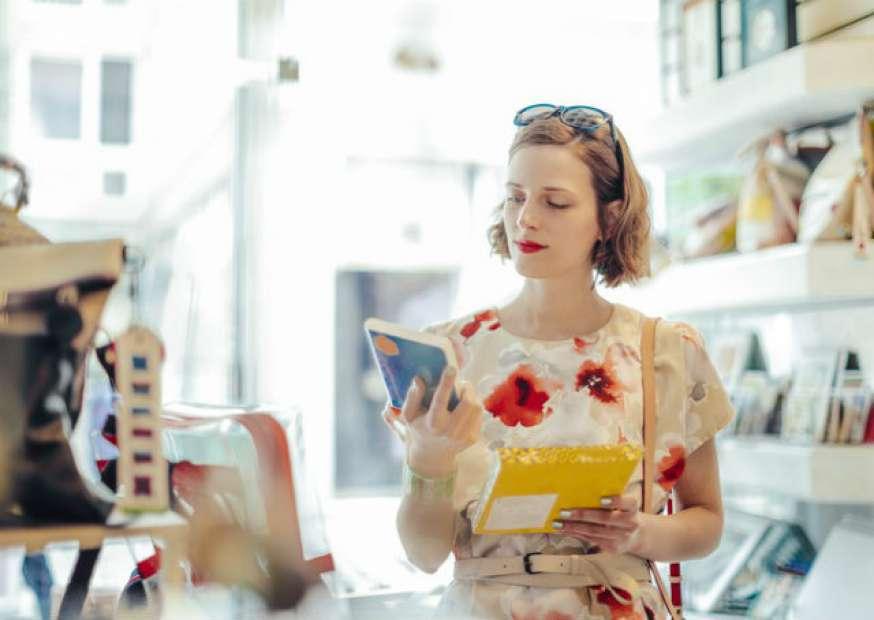 Cliente no momento da decisão de compra