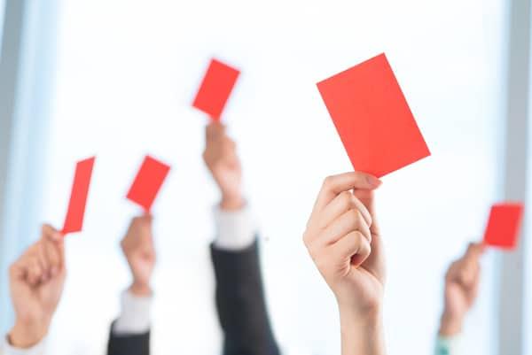 Imagem que descreve objeções de vendas
