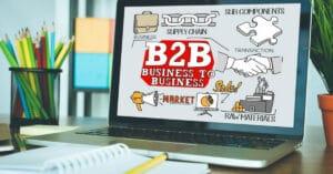 Imagem que descreve o E-commerce B2B